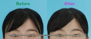 就職証明写真・インターン証明写真。前髪はどうしたらいい?眉の上?それとも・・・